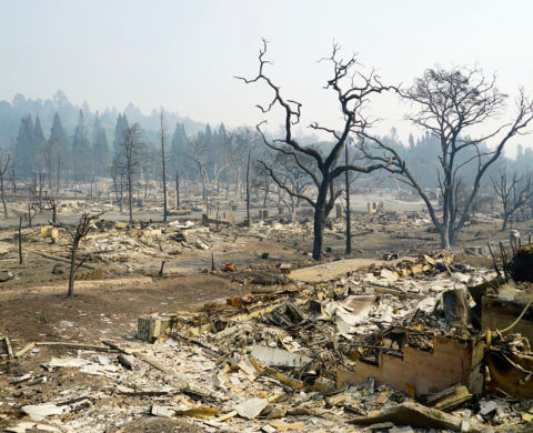 Santa Rosa Tubbs Fire Fountaingrove neighborhood devastation